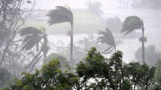 """""""Ein sehr zerstörerischer Sturm"""": Zyklon """"Debbie"""" trifft mit 270 km/h auf Australien"""