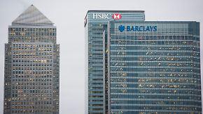 """Umzug von Londons Banken?: Was ein """"harter"""" Brexit für die Finanzwelt bedeutet"""