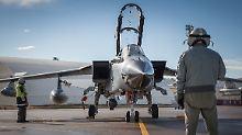 Immunität für die deutschen Tornado-Besatzungen angestrebt.