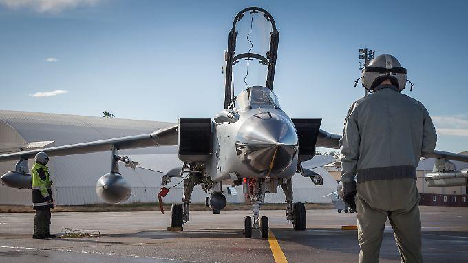 Deutsche Tornados versorgen die Koalitionspartner regelmäßig mit Bildern, die zur Planung von Angriffen verwendet werden.