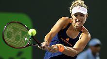 Endstation Viertelfinale: Angelique Kerber scheitert in Miami an Venus Williams