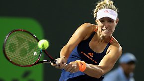 Endstation Viertelfinale: Angelique Kerber scheitert in Miami an Venus Williams