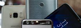 Galaxy S8, LG G6, Huawei P10: Welches Flaggschiff bietet mehr fürs Geld?