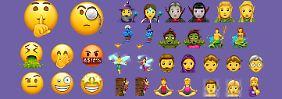 Verrückt, gerecht und zauberhaft: Viele tolle neue Emojis kommen