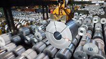 Quoten für Stahlimporte?: Zypries befürchtet Handelsstreit mit USA
