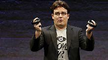 Palmer Luckey verdiente Millionen mit dem Verkauf seines Virtual-Reality-Unternehmens Oculus an Facebook.