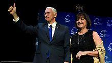 Pence sorgt für Gesprächsstoff: US-Vize trifft nur eine Frau