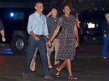 Schwimmen, Kiten - und nun?: Was Obama plant