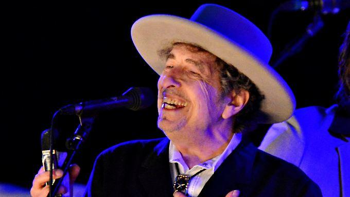 Bob Dylan, hier bei einem Auftritt in Paddock Wood in England.