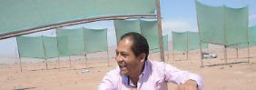 Wasserknappheit in Peru: Netze sollen Nebel auffangen