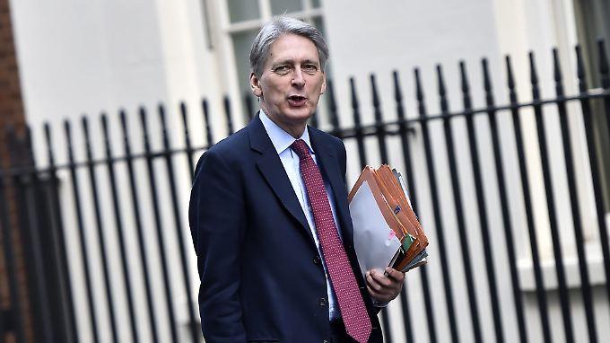 Der britische Finanzminister Philip Hammond hofft auf ein weitreichendes Freihandelsabkommen.