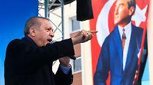 """Werden """"Überraschung"""" erleben: Erdogan kündigt neue Militäraktionen an"""