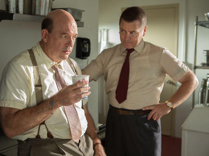 Die Brüder Dick und Mac McDonald verzweifeln langsam.