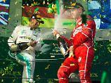 """""""Dankbar für den Kampf mit ihm"""": Demütiger Hamilton greift Vettel an"""