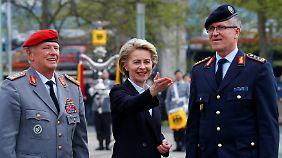 Schutz vor Angriffen im Internet: Von der Leyen stellt neue Cyber-Armee der Bundeswehr vor