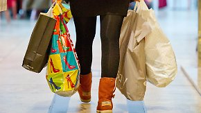 Shoppen statt sparen: Deutschen steht der Sinn nach Konsum