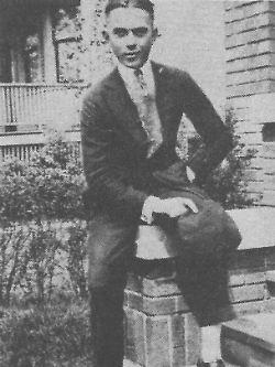 Ray Kroc als junger Mann.