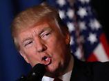 Kein Ziel, keine Strategie: Trump macht Außenpolitik wie er spricht