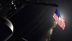 """Lawrow: """"Akt der Aggression"""": USA feuern Raketen auf Armeestützpunkt in Syrien"""