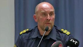 Terroralarm in Stockholm: Polizei gibt erste Pressekonferenz nach dem Anschlag