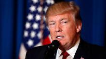Hashtag #syriahoax: Trump verärgert ultrarechte Anhänger