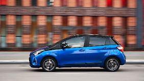 Den Yaris wird es in der Hybridversion geben, die bei deutschen Kunden besonders beliebt ist.