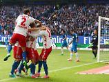 Mainz im freien Buli-Fall: HSV stoppt Hoffenheim, Leipzig spektakelt