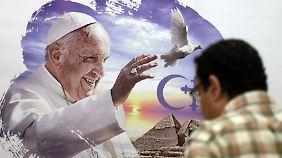 In Kairo bereitet man sich auf den Besuch des Papstes Ende des Monats vor.