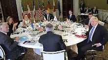 Johnson fordert neue Sanktionen: G7 wollen Putin zu Bruch mit Assad zwingen