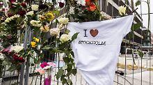 """Anschlag in Stockholm: Usbeke bekennt sich zu """"terroristischer"""" Tat"""
