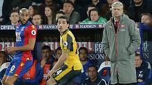 Arsène Wenger steht bei Arsenal London seit Wochen unter Druck - jede Niederlage macht es schlimmer.