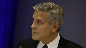 Promi-News des Tages: George Clooney fliegt aus dem Ehebett