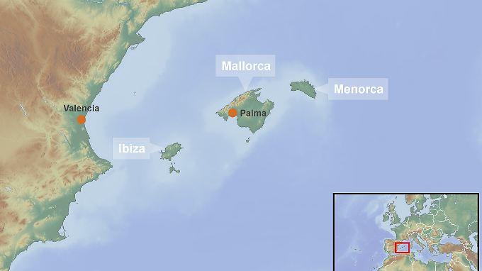 Urlaubsinseln im westlichen Mittelmeer: Von Deutschland aus ist Palma weniger als drei Flugstunden entfernt.