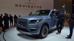 Der neue Lincoln Navigator, nach 12 Jahren Laufzeit jetzt ein echtes Luxus-SUV.