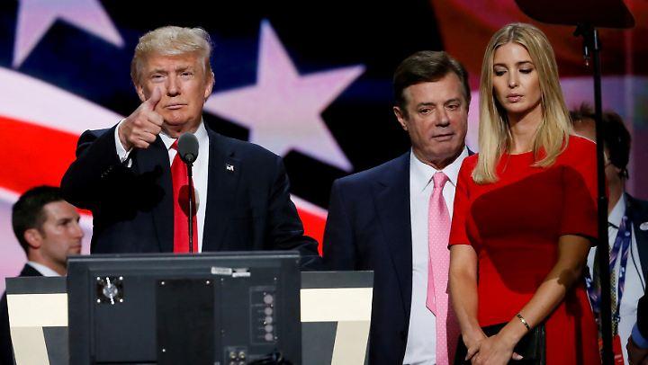 Donalds Trumps Wahlkampfchef Paul Manafort setzte sich für Kreml-Interessen ein und bekam Schwarzgeld aus der Ukraine.