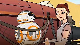 """Kurzfilme mit neuen Sternenkriegerinnen: Das """"Star Wars""""-Universum wird weiblicher"""