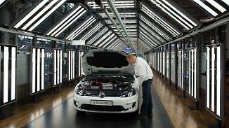 Produktion des E-Golf startet: Volkswagen legt Grundstein für Elektrozukunft