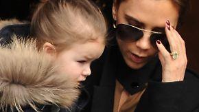 Promi-News des Tages: Harper Beckham ist jetzt eine Marke