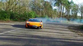 Spezielle Rennsport-DNA: Tim Schrick lässt mit dem McLaren 570 S die Sau raus