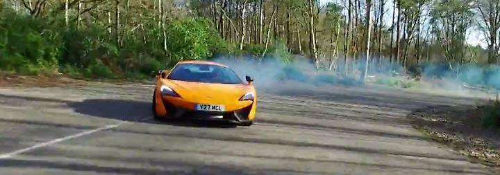 Spezielle Rennsport-DNA: Tim Schrick lässt mit dem McLaren 570S die Sau raus