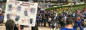 Protestwelle in Arkansas: Pharmariese klagt gegen Massenhinrichtung