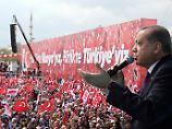 """""""Historische Revolution"""": Endspurt im türkischen Wahlkampf"""