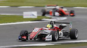 Zweites Rennen in Silverstone: Mick Schumacher ist bester Formel-3-Neuling