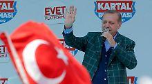 Erdogan im Wahlkampf-Endspurt: Referendum soll Weg für Todesstrafe ebnen