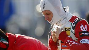 Abschlussrennen in Silverstone: Mick Schumacher bleibt nach Kollision ohne Punkte