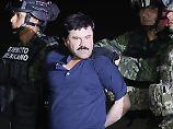 """El Chapo"" bei seiner Festnahme"