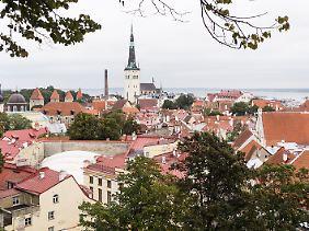 Talliin ist ein hübsches Städtchen mit einem mittelalterlichen Altstadtkern - und es gibt viele gute Restaurants.