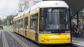 Eine Berliner Tram.