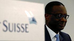 Tidjane Thiam, Chef der Credit Suisse.