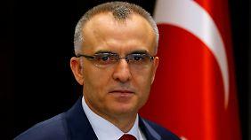 Naci Agbal, Finanzminister der Türkei.